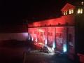 Abbey in lights