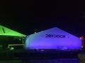 Dry dock in lights